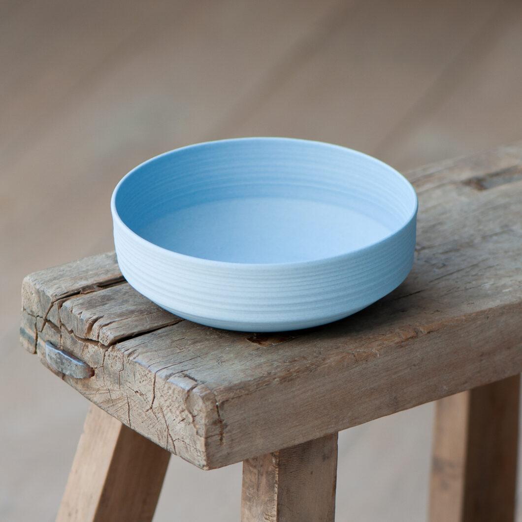 blaue Schale